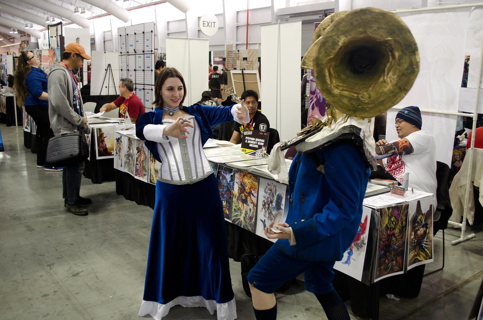 NYCC 2013 Bioshock Cosplay
