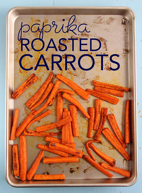 Paprika Roasted Carrots
