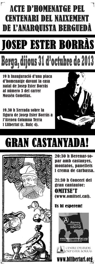 Centenari de Josep Ester i Borràs
