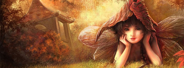 Baby Angel Facebook Cover Photo