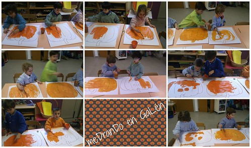 NURSERY 3 PUMPKIN COLOURING