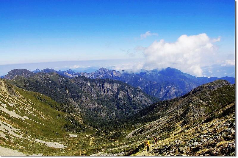 聖稜線(From 雪主頂) 18