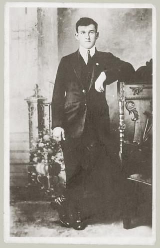 RPPC Man standing