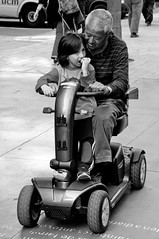 Rolling with Grandpa