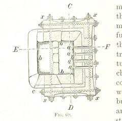 """British Library digitised image from page 116 of """"Handbook of Metallurgy ... Translated by H. Louis"""""""