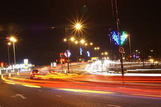Hartlepool Traffic at night