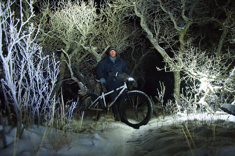 Night ride on Baker's Acres