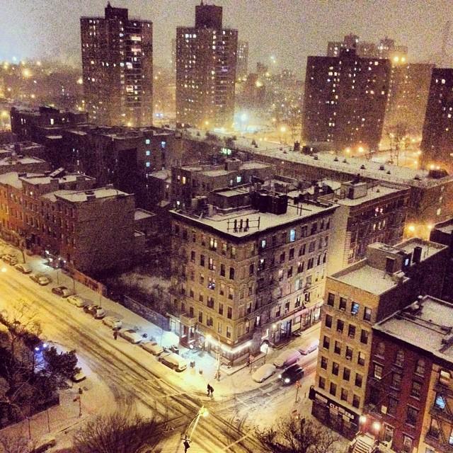 Saturday #lowereastside #les #imagesforyoursenses #nyc #newyorkcity #snow #winter #ice