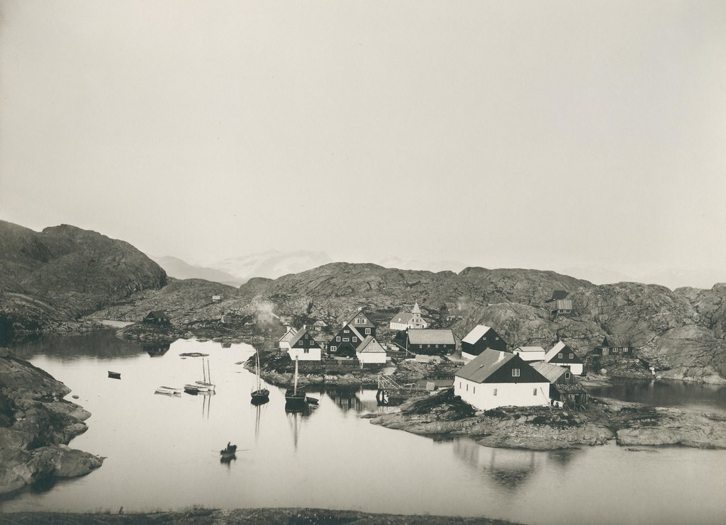 Greenland in the late 19th-early 20th century.