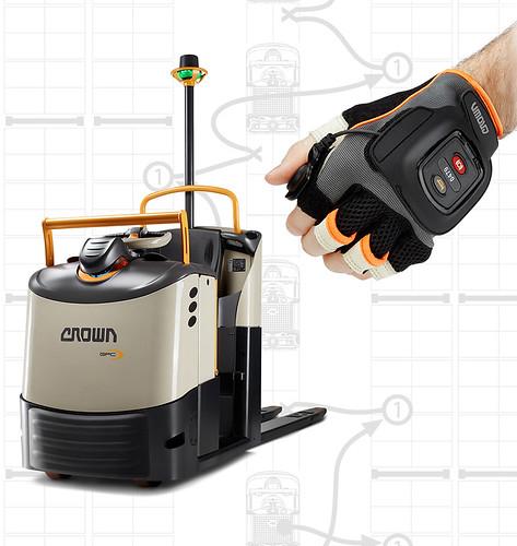 La technologie QuickPick Remote est compatible avec les préparateurs de commandes Série GPC 3000 de Crown