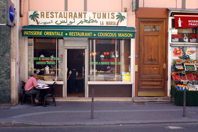 Restaurant tunisien la Marsa près de la place des Terreaux À Lyon