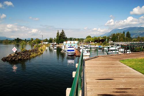 Victoria Quay, Port Alberni, Alberni Valley, Vancouver Island, British Columbia