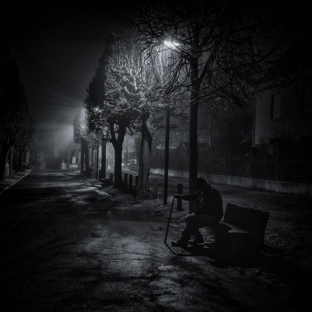 Le Vieil homme dans la nuit