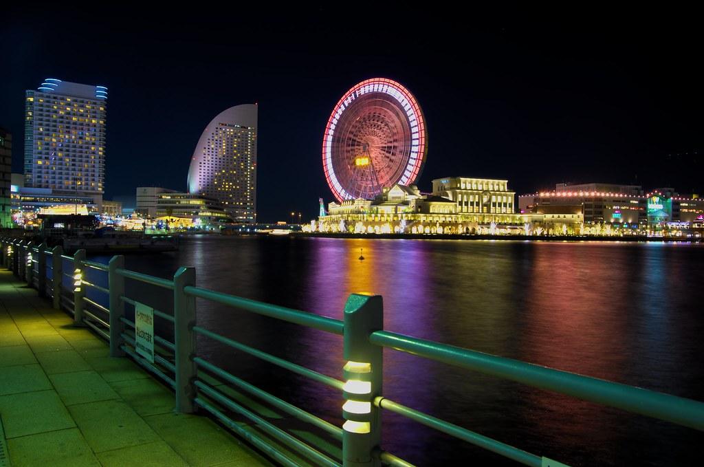 yokohama night walk