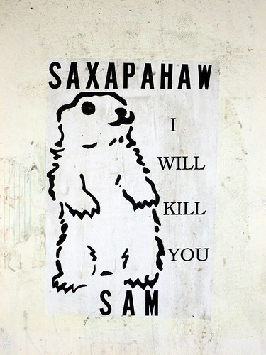 "Saxapahaw ""I will kill you"" Sam"