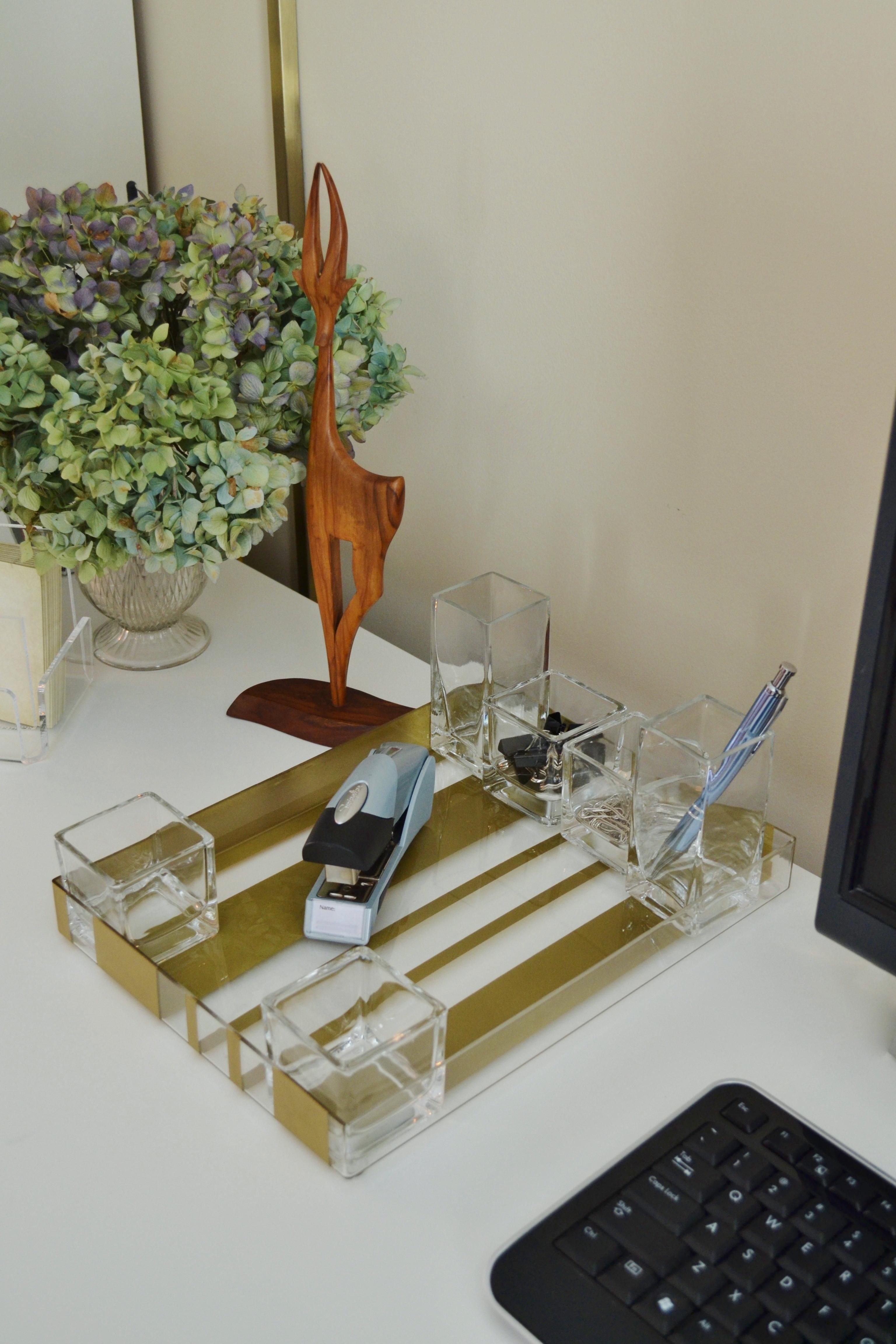 diy acrylic desk organizer