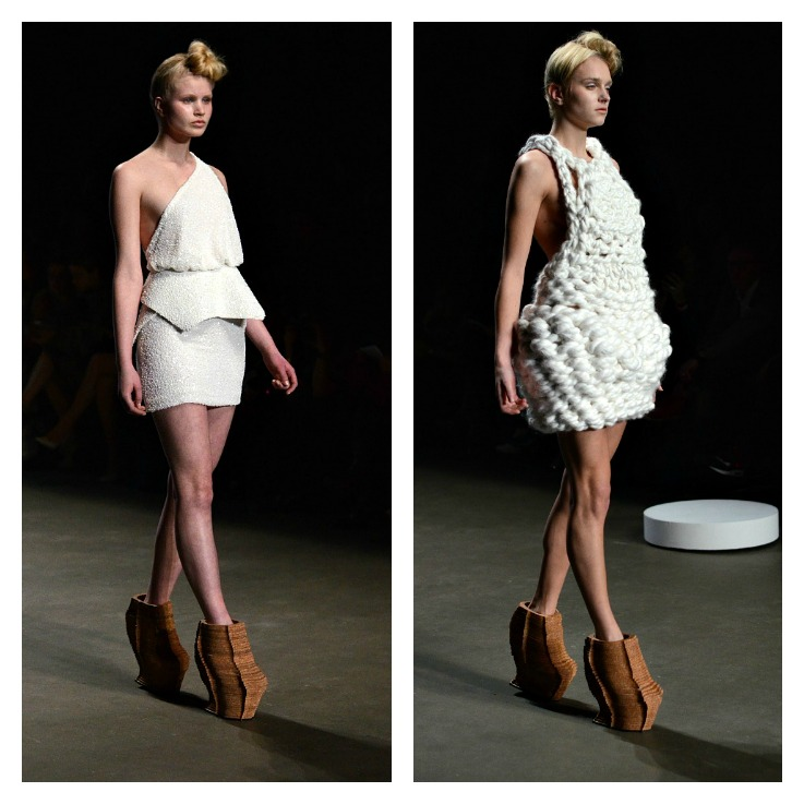Collage Winde Rienstra Fashion week amsterdam 2014 (2)