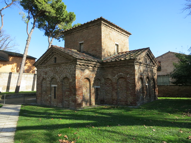 "Ravenna, ""Mausoleum"" of Galla Placidia"