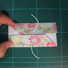 การพับกระดาษเป็นรูปเรขาคณิตทรงลูกบาศก์แบบแยกชิ้นประกอบ (Modular Origami Cube) 007