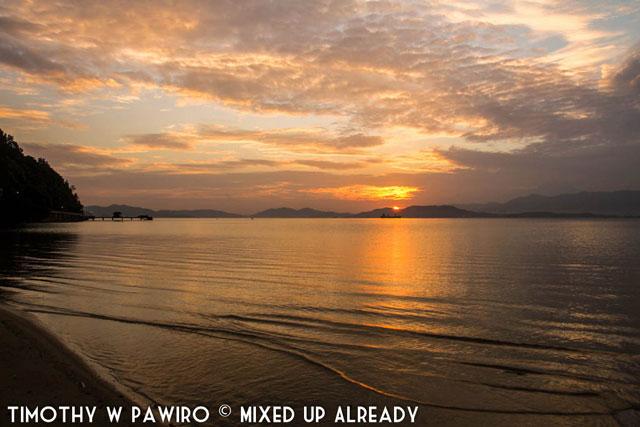 Malaysia - Kinabalu - Gaya Island Resort - The sunrise