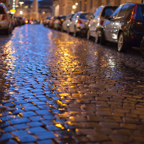 Regenpflaster; copyright 2014: Georg Berg