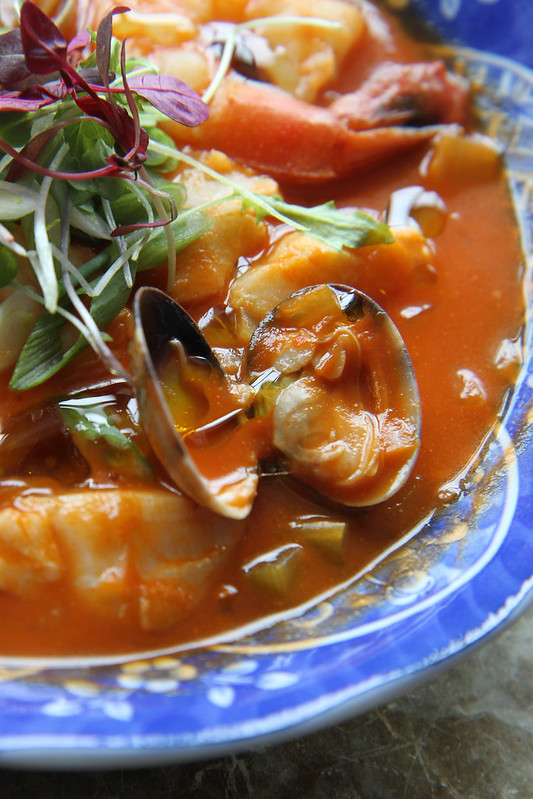 Tomato based fish soup for Fish broth recipe