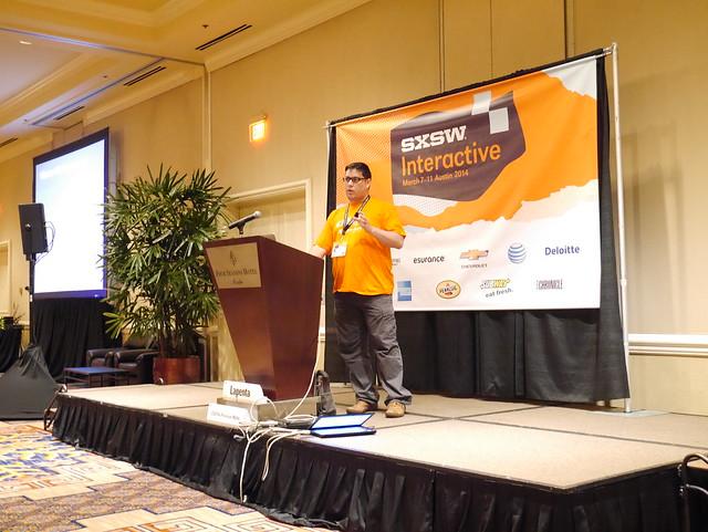 Ramon Lapenta talks at SXSW