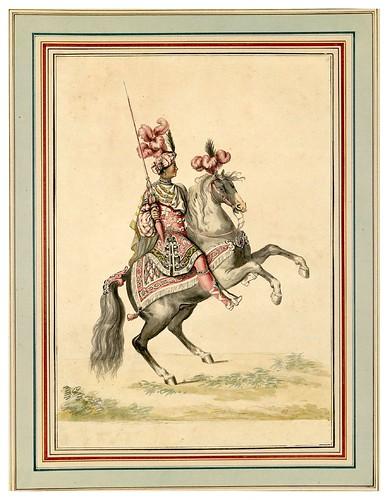 013-Carrousel des galans Maures de Grenade…1685- Jean Berain- INHA