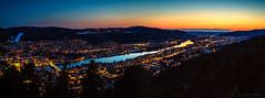 Drammen city panoramic