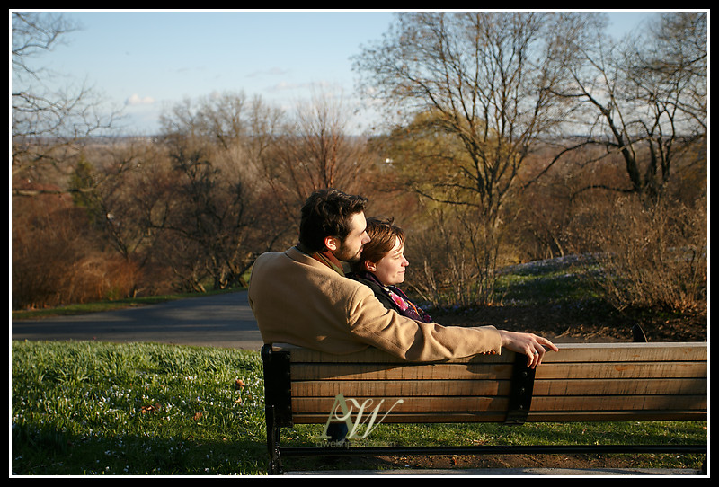 engagement couple photo photography Rochester NY Andrew Welsh Alex Deb Highland Park