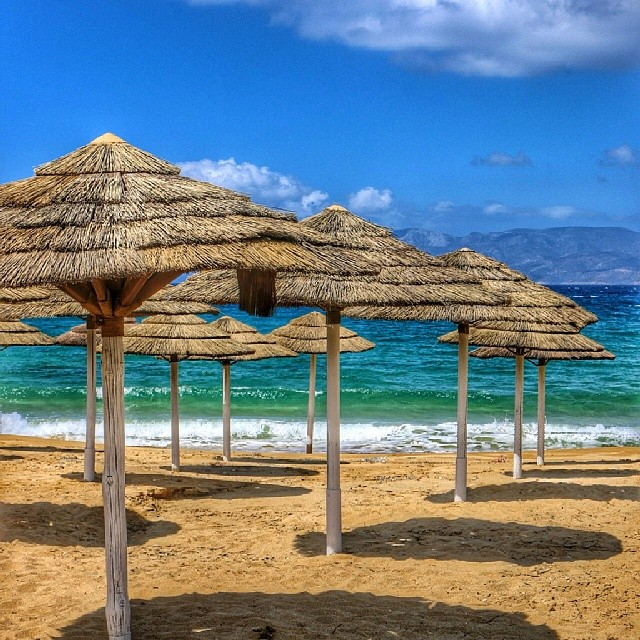 Gorgeous Mylopotas beach on Ios, Greece. #gogreece14