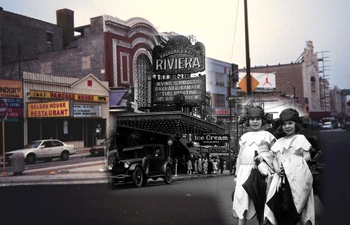 Riviera Theatre Chicago 1920s & Now