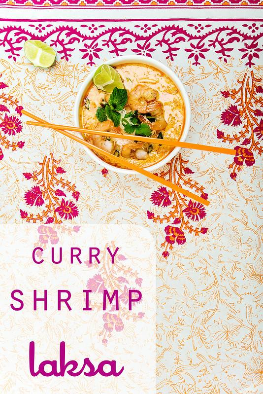 curry shrimp laksa recipe #MalaysianKitchen