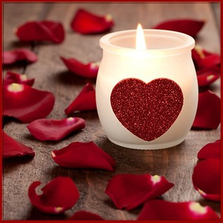 Valentine's Day Decor Ideas, Candles
