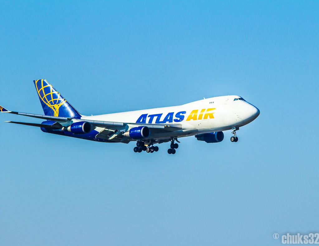 N497MC - B744 - Atlas Air