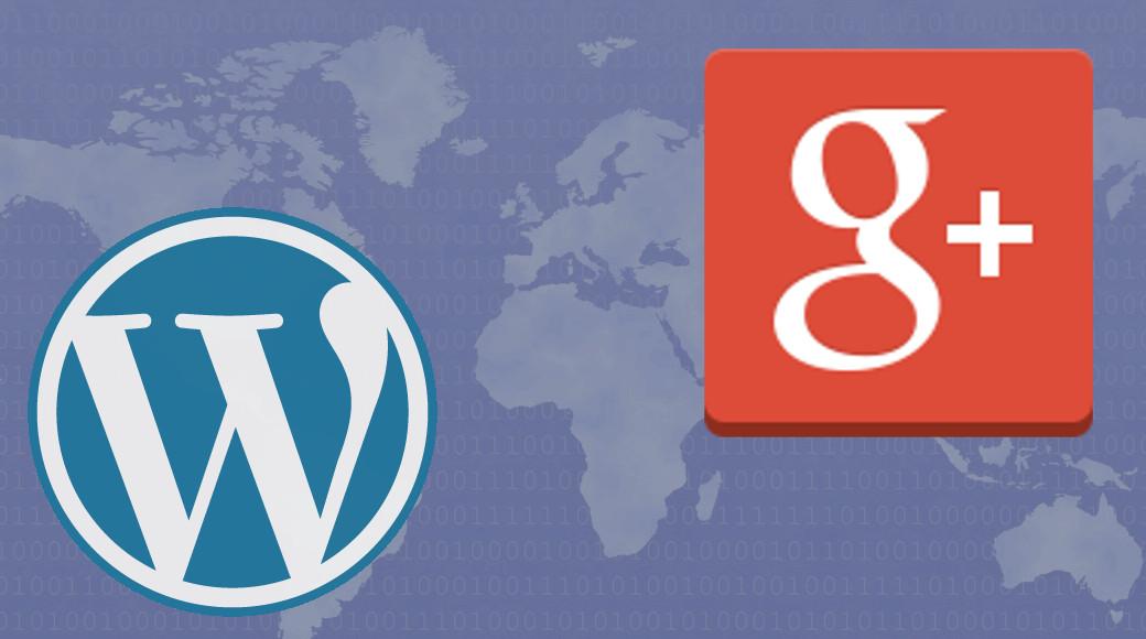 WordPressとSNS連携(Google+編)