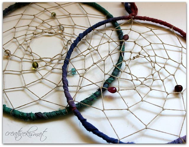 dream catcher weaving
