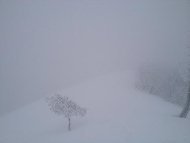 綿向山 山頂 竜王山方面