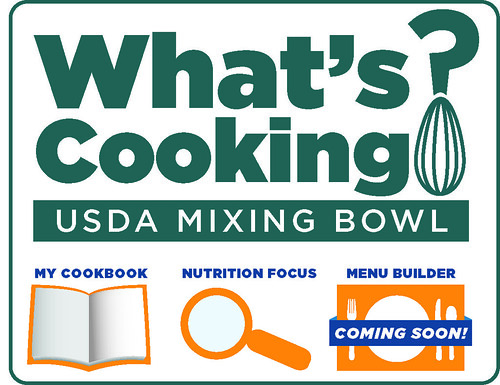 Visit USDA's recipe website at www.WhatsCooking.fns.usda.gov! The full site is available in both English and Spanish.