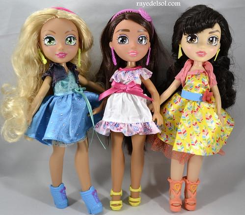 Vi and Va Line of dolls