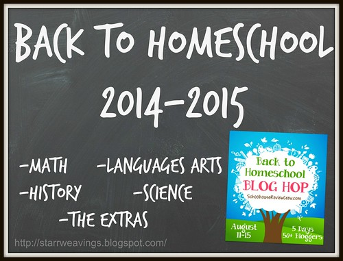 Back to Homeschool 2014-2015