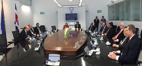 Secretario General de la OEA se reunió en Costa Rica con el pleno de la Corte Interamericana de Derechos Humanos