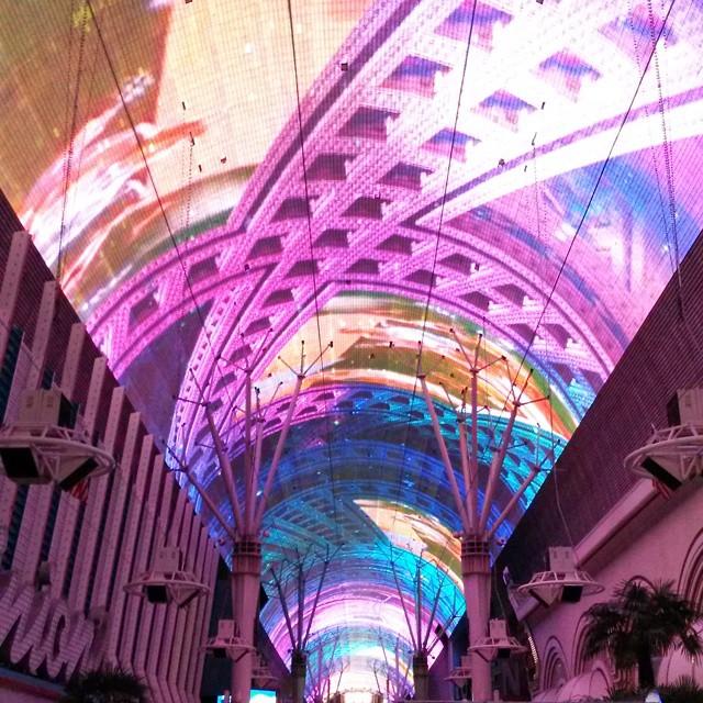 Fremont Street, Las Vegas, Nevada, USA