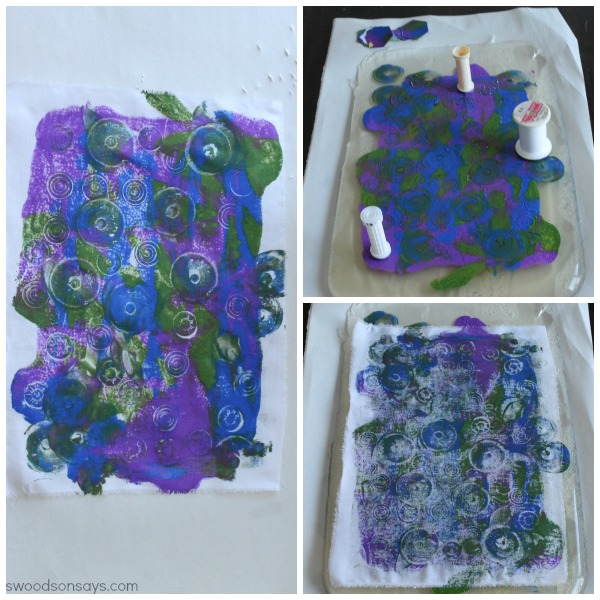 Spool Print Making