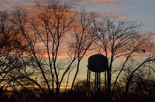 sky clouds sunrise georgia landscape buford silhouetter gwinnett