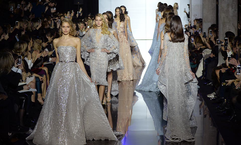 Zuhair Murad Spring/Summer 2015 Couture An Evocation of Water