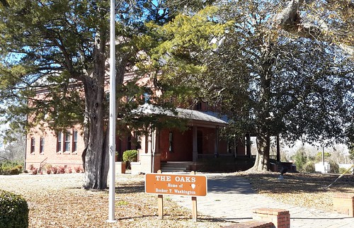 The Oaks - Booker T. Washington's home at the Tuskegee Institute