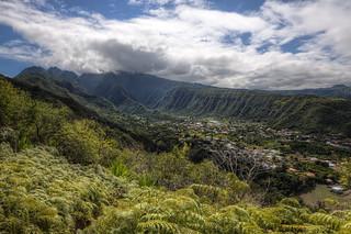Panorama of Entre-Deux, Réunion Island [FR]