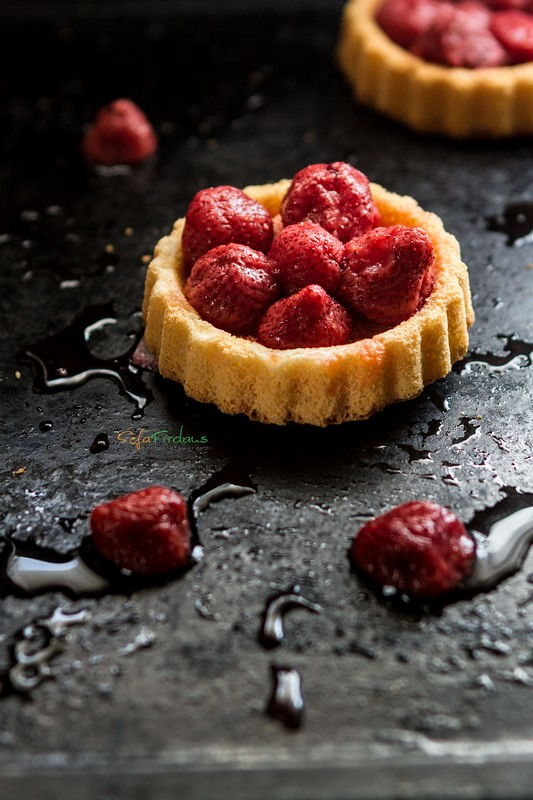 Strawberry Compote Tartelette