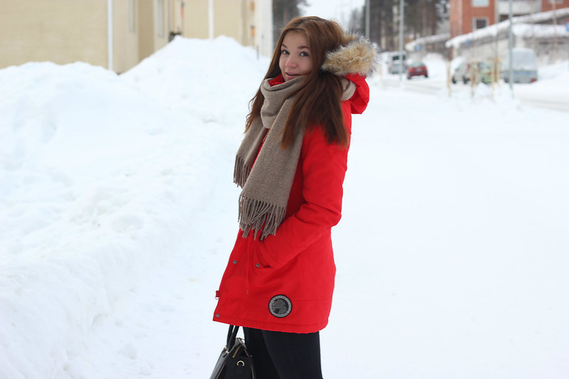 vero moda talvitakki Alajarvi